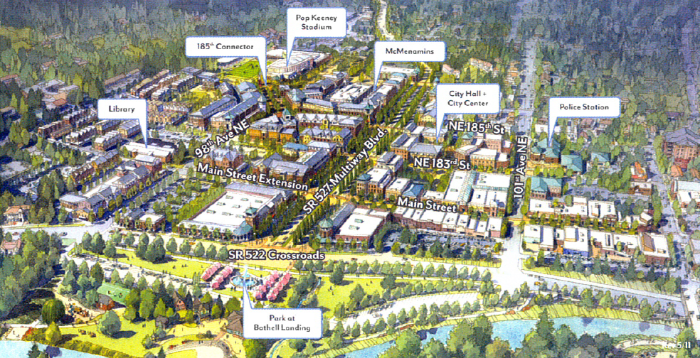 Mainstreet Property Group Sells Downtown Bothell Site To