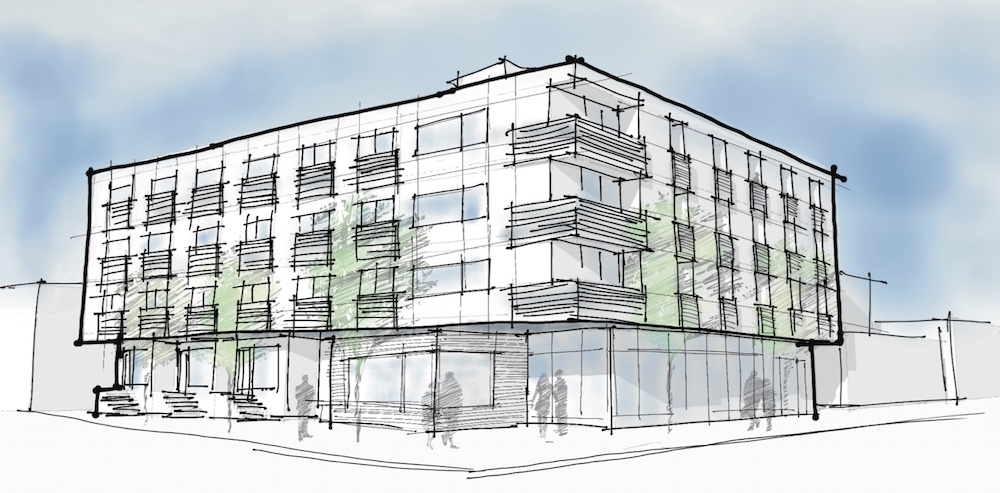 60 unit project in seattle s green lake neighborhood for Washington state approved house plans
